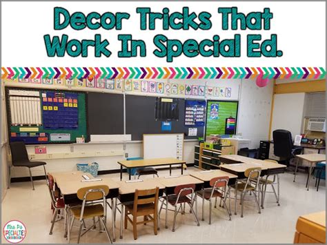 themes for special education classrooms 3 decor tricks for special education mrs p s specialties
