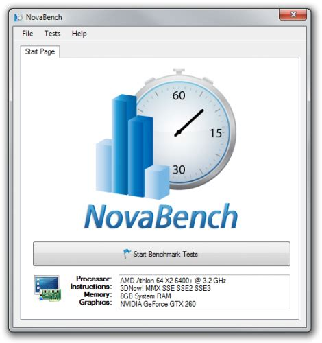 download nova bench novabench download freeware de
