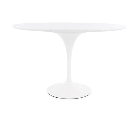Large Circular Table Buy White Tulip Style Large Circular Table From Fusion