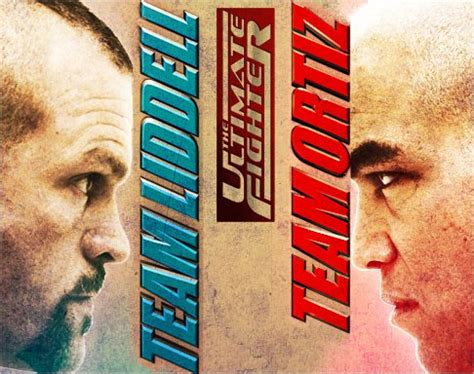 Kaos Ultimate Fighter Graphic 9 the ultimate fighter 11 team liddell vs team ortiz