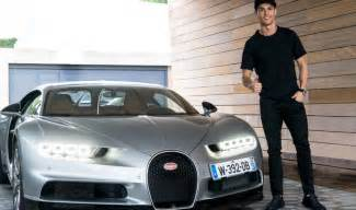 Ronaldo Vs Bugatti Cristiano Ronaldo Tests The Bugatti Chiron Is It His