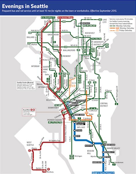 seattle map transportation seattle frequent network maps preview sept 2015