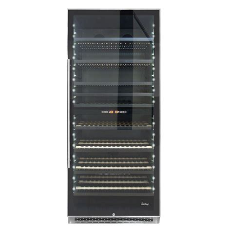 danby 18 in 36 bottle wine cooler with one temperature