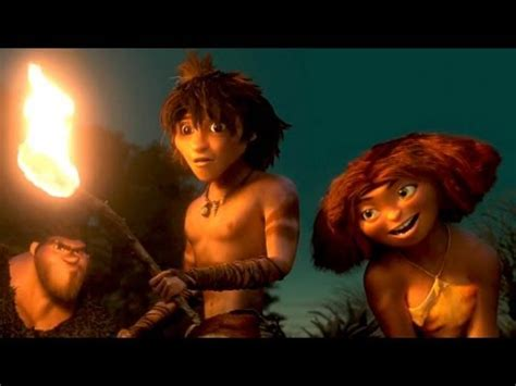 """the croods movie clip # 3 """"fire"""" youtube"""