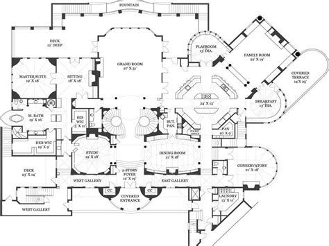 castle floor plan blueprints castle