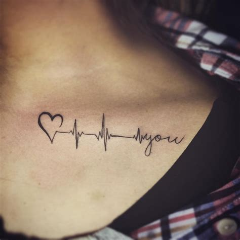 tattoo with every heartbeat bedeutung tattoo herzschlag bedeutung und 30 tolle ideen f 252 rs