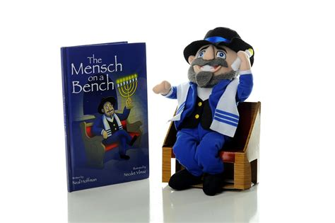 mensh on a bench mensch on a bench the story behind one of the holiday