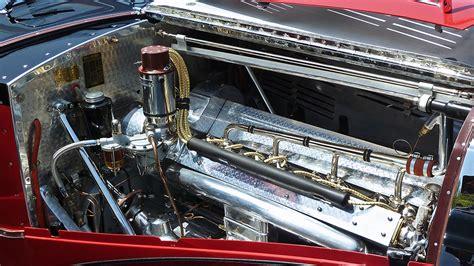 The Beverly 187 Bugatti 1939 Type 57c Galibier Engine