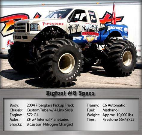 bigfoot 8 truck bigfoot 8 trucks