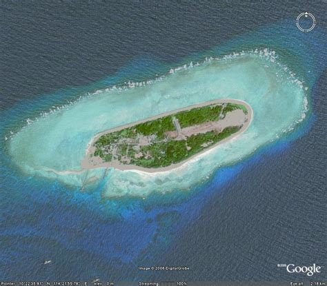 30 Square Meters Top 10 Islands In China W Google Earth Links I