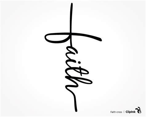 faith clipart faith cross svg cross svg svg png eps dxf pdf clipink