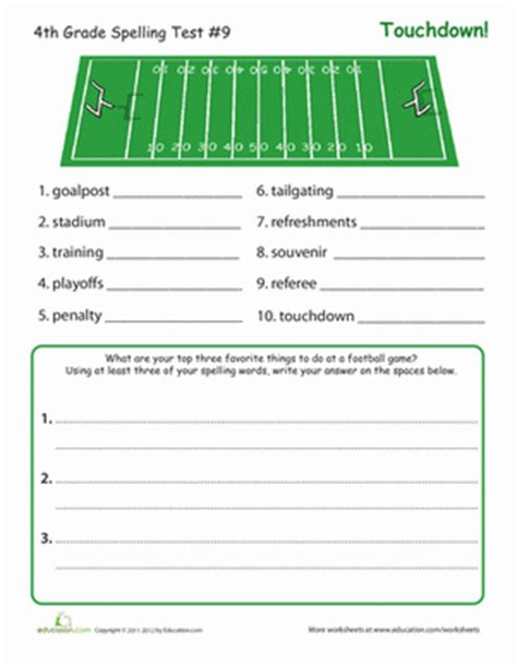 4th Grade Spelling Worksheets by Spelling For 4th Graders K K Club 2017