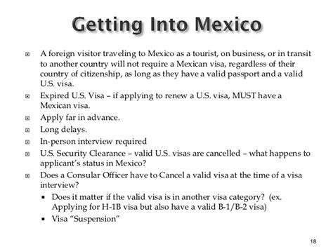 Invitation Letter For Mexican Visa Non Immigrant Visa Update A Consular Update