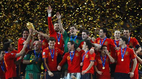 spain world cup spain s 2010 conquerors in numbers fifa