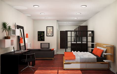 Apartments. How To Decorate A One Bedroom Apartment: Amazing Studio Apartment Ikea