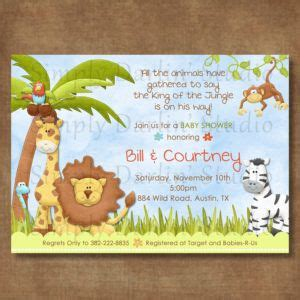 King Of The Jungle Baby Shower Invitations by Best 25 Baby Shower Templates Ideas On Baby