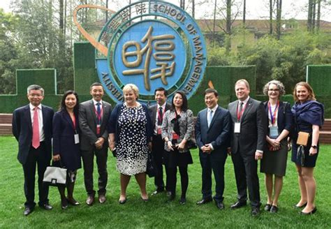 Fudan School Of Management Mba by Prime Minster Erna Solberg Visits Fudan