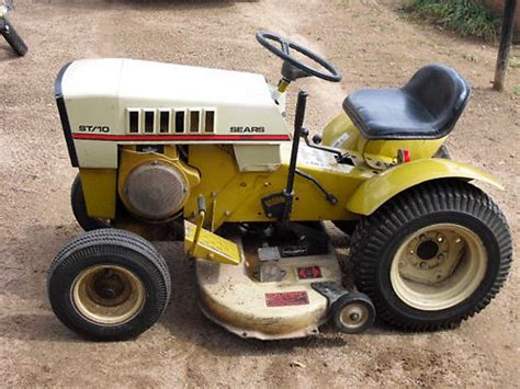 sears garden tractors customs