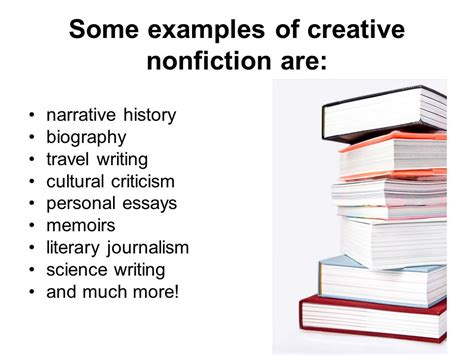 Creative Nonfiction Essay Exles by Creative Nonfiction By Greg Harris June 4 Ppt