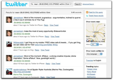 Search By Location Find Followers By Location 2011