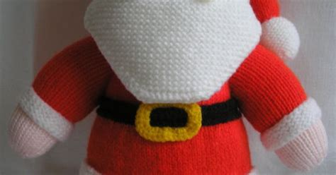 how to knit neatly how neatly made is this santa claus knitted doll by