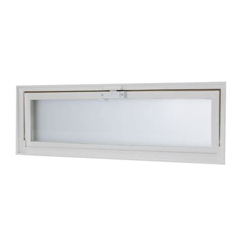 bathroom window vent tafco windows 23 25 in x 7 75 in glass block replacement