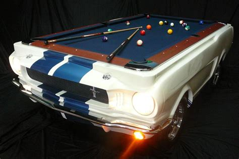 mustang pool table cool pool a mini mustang play station car and driver