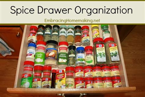 bed bath and beyond ta spice drawer organization embracing homemaking
