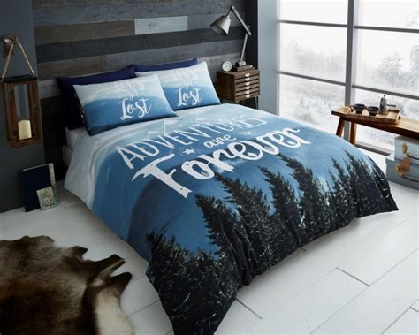 mountain bedding sets mountains adventure floral modern duvet quilt cover