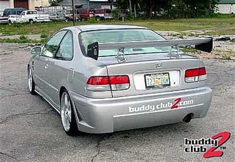 rearbumper for honda civic (1996 1998) › avb sports car