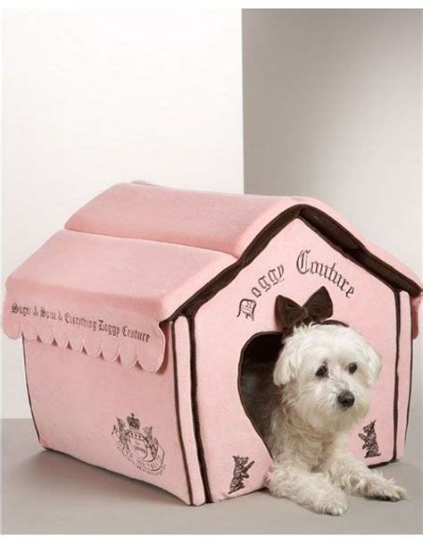 juicy couture dog house pet houses pet products and designer dog beds on pinterest