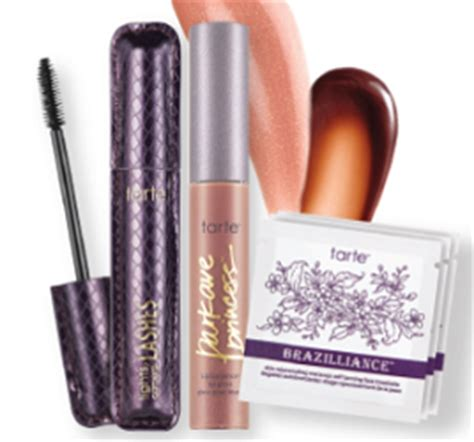 Tarte Giveaway - free makeup sles free sles by mail no surveys