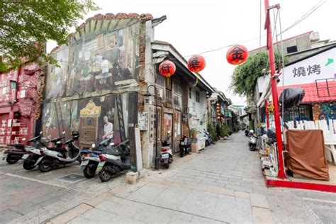 海安路艺术街 台南旅游网