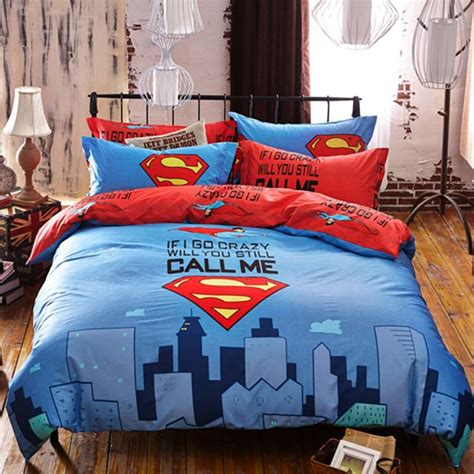 superman bed set superman bedding set queen size ebeddingsets