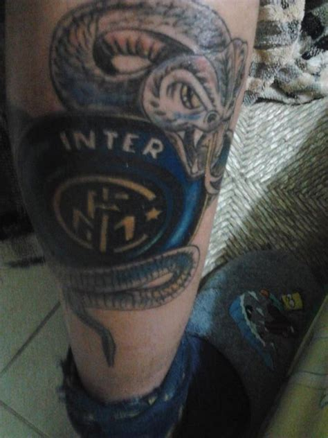inter milan tattoo gallery nerazzurri world