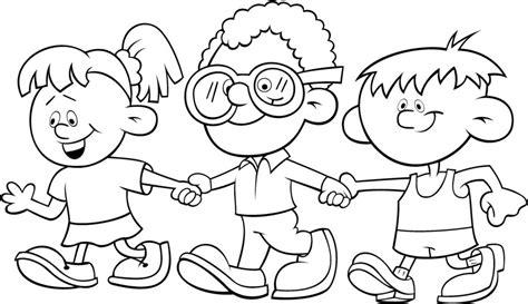 imagenes de niños jugando en grupo para colorear im 225 genes de amistad bonitas 187 dibujos gifs frases de amistad