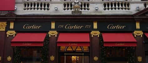 cartier reopened boutique  london