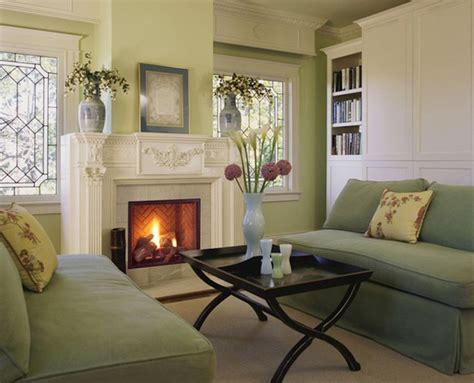Transitional Living Room With Fireplace Fireplaces Transitional Living Room Kansas City By