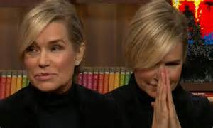 yolanda foster new hairstyle yolanda foster finds out source of lisa rinna s gossip