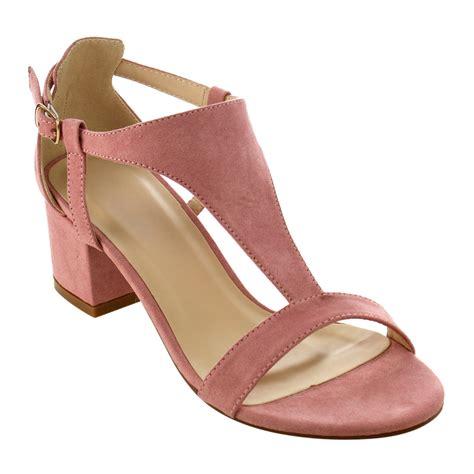 dress sandals s t cutout side block heel dress sandals ebay