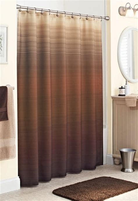 brown bathroom curtains 17 best images about brown shower curtain on pinterest