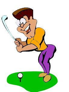 animated golf pictures clipart best