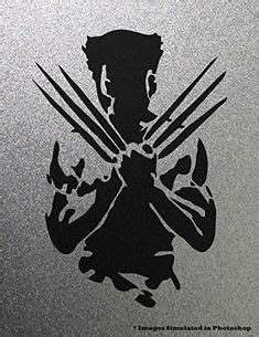 wolverine silhouette movie | ideas for the boys