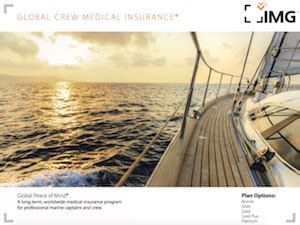 global crew medical insurance visitor insurance services