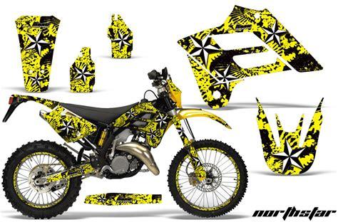 motocross race fuel gas gas ec 250 300 motocross graphic kit 2006 2008