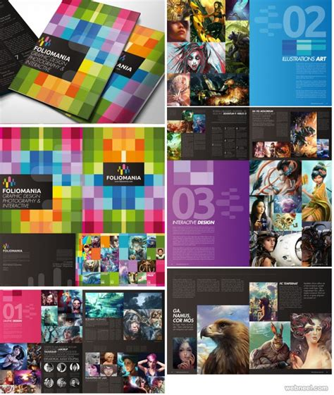 leaflet design inspiration 2015 50 creative corporate brochure design ideas for your