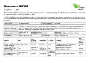 lone worker risk assessment template april 2012 gabrielquotes