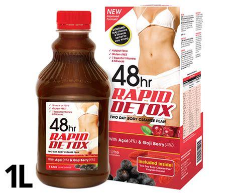 48hr Rapid Detox 1 Litre Review catchoftheday au 48hr rapid detox 1l