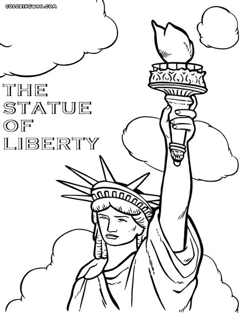 statue of liberty coloring page statue of liberty coloring pages coloring pages to