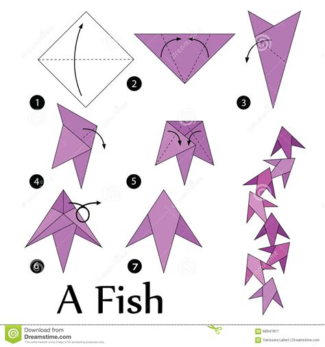 How To Make Origami Fish - origami fish tutorial www imgkid the image kid has it